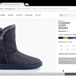 ugg australia 437 boutiques de mode en france. Black Bedroom Furniture Sets. Home Design Ideas